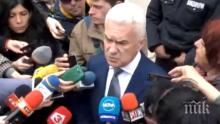 ПЪРВО В ПИК TV: Волен Сидеров преди КСНС: Ще питам Радев за неговите апартаменти, прокуратурата си върши работата