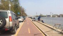 Рибари окупираха Гребната база на Пловдив (СНИМКИ)