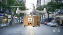 В Австралия вече правят доставки с дронове