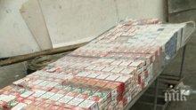 """УДАР: Митничари спипаха над 28 хиляди къса контрабандни цигари на """"Капитан Андреево"""" (СНИМКИ)"""