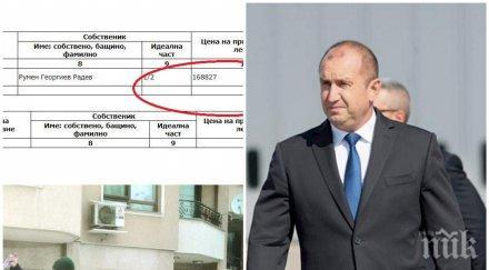 мълния пик румен радев евтин апартамент купил ново строителство гео милев 600 евро квадрат документ снимки
