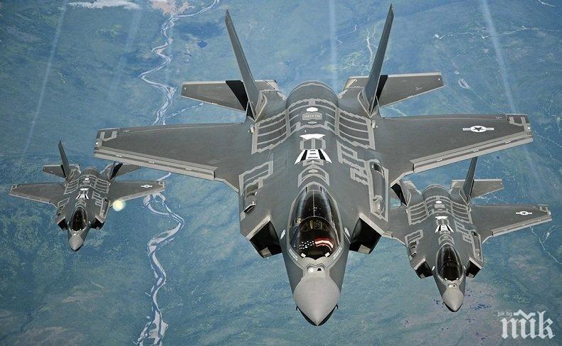 Гърция купува изтребители Ф-35