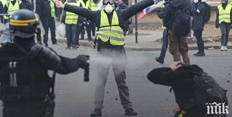 """Френската полиция готова за сблъсък №21 с """"жълти жилетки"""""""