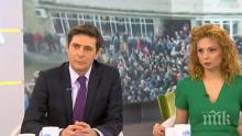 АТАКАТА ПРОДЪЛЖАВА: Виктор Николаев отново наглее - водещият с циничен коментар за размириците в Габрово, Аделина му приглася