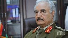 УЖАСЪТ В ЛИБИЯ Е СТРАШЕН: Армията на маршал Хафтар свали самолет на международно признатото правителство на Либия