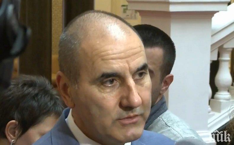Цветанов: На предстоящия вот трябва да се гласува за резултати, а не за компромати