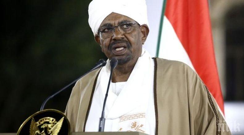 Сваленият от власт президент на Судан е под домашен арест