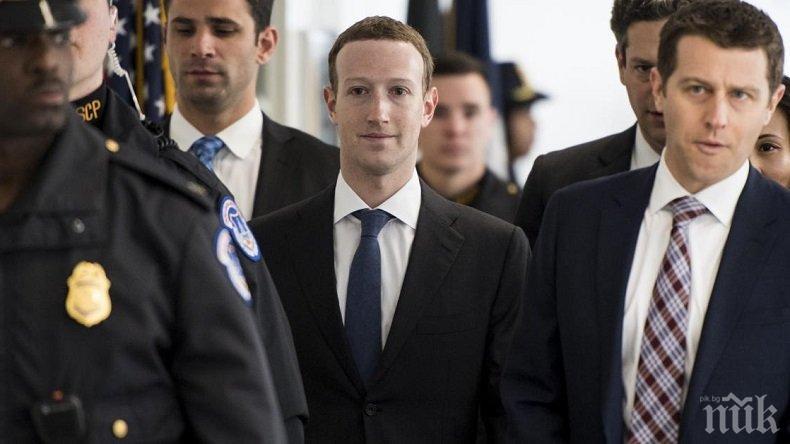 Ето колко е струвала сигурността на Марк Зукърбърг на Фейсбук за миналата година
