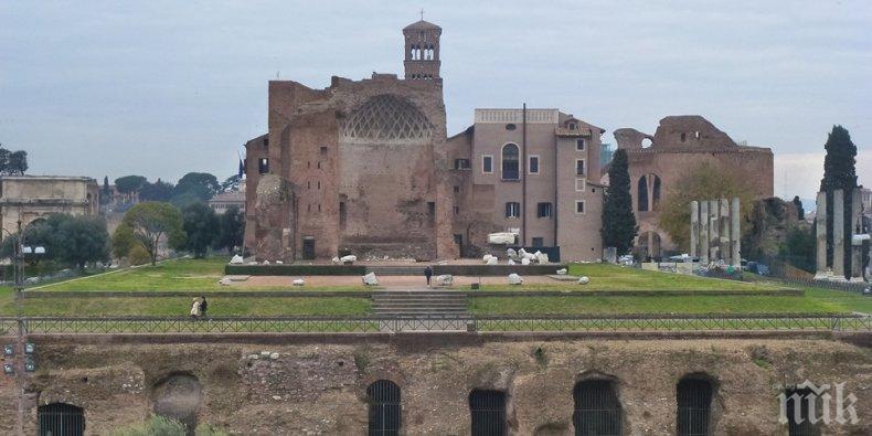В Рим отварят вратата към подземния свят на двореца на Нерон