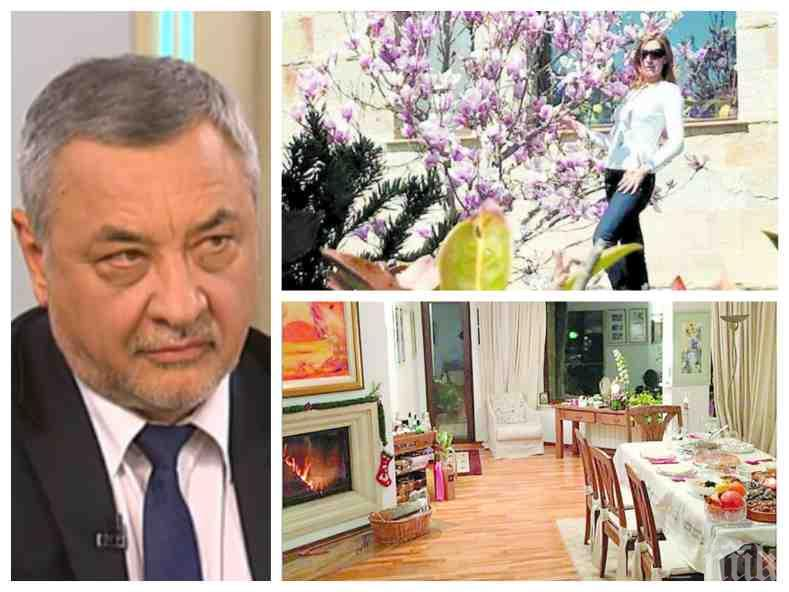 """ОТ ПОСЛЕДНИТЕ МИНУТИ: Валери Симеонов с нови разкрития за имането на """"интересната особа"""": Да каже откъде я взима сутрин шофьорът и защо мъжът й се хвали в Инстаграм, че има къща в Бистрица"""