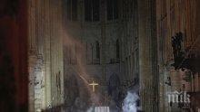 """Следователите започнаха разпити във връзка с пожара в катедралата """"Нотр Дам"""""""