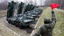Демонстрация: Показаха руски ракетни установки С-400 на централния площад в Севастопол