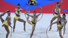 Ансамбълът ни завърши участието си на Световната купа в София със сребро