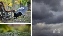НЕ ЗАБРАВЯЙТЕ ЧАДЪРИТЕ: Днес ни чакат облаци и дъжд