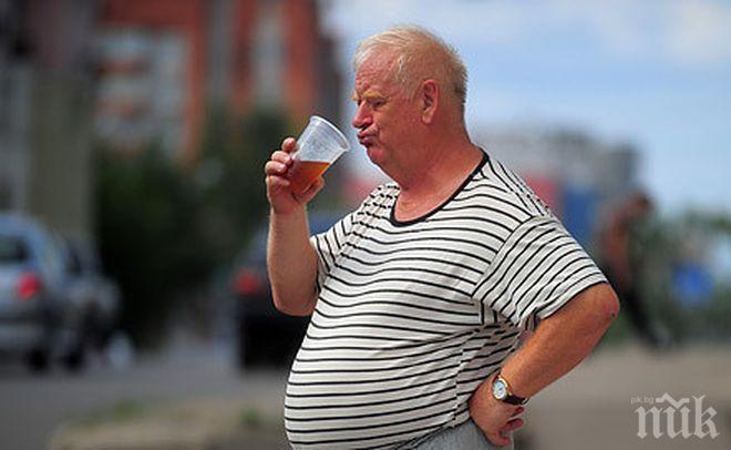 Стряскаща статистика: Над 1,5 млн. българи са с наднормено тегло
