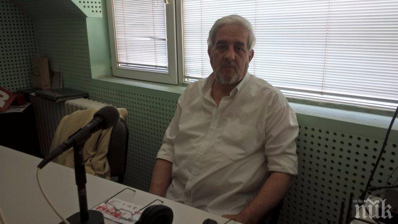 ТЪЖНА ВЕСТ: Почина председателят на дружеството на пловдивските писатели Начо Христосков