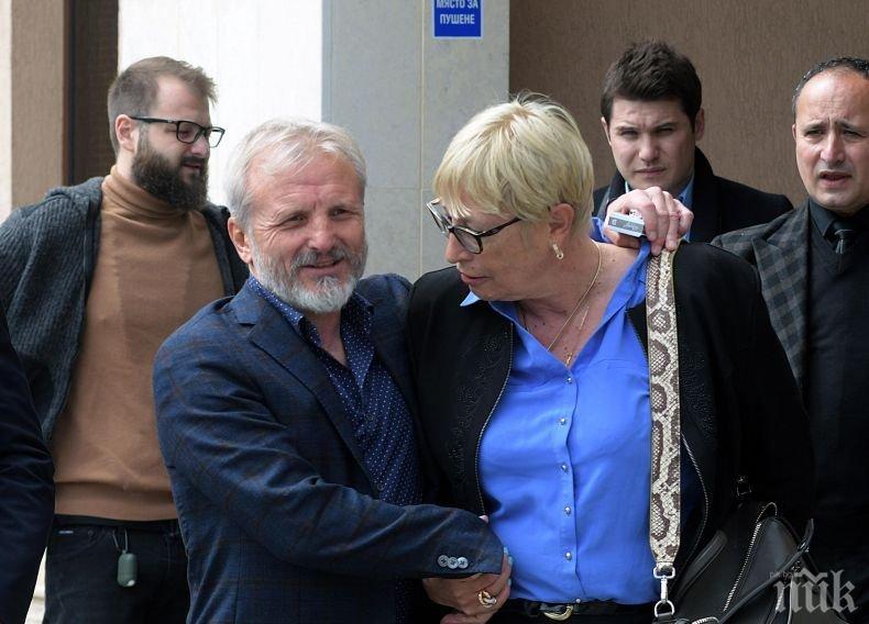Спецсъдът гледа делото срещу Гриша Ганчев и сина му (СНИМКИ)