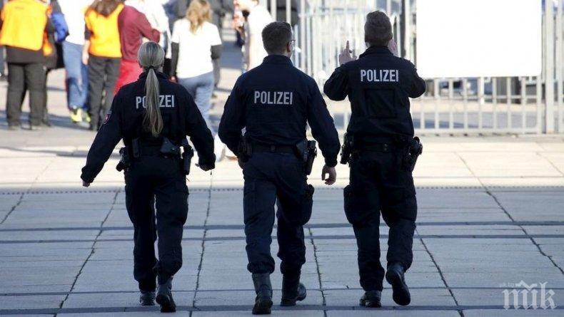 Полицията в холандския град Керкраде на крак, преследва в дива гонка по улиците... валаби