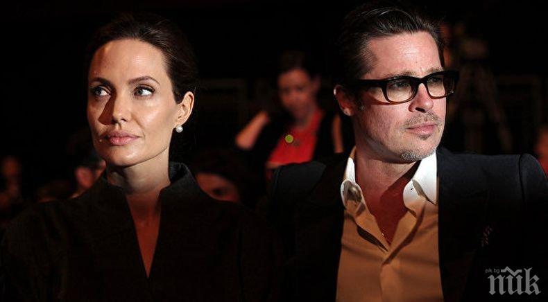 ОФИЦИАЛНО: Анджелина Джоли и Брад Пит се разведоха