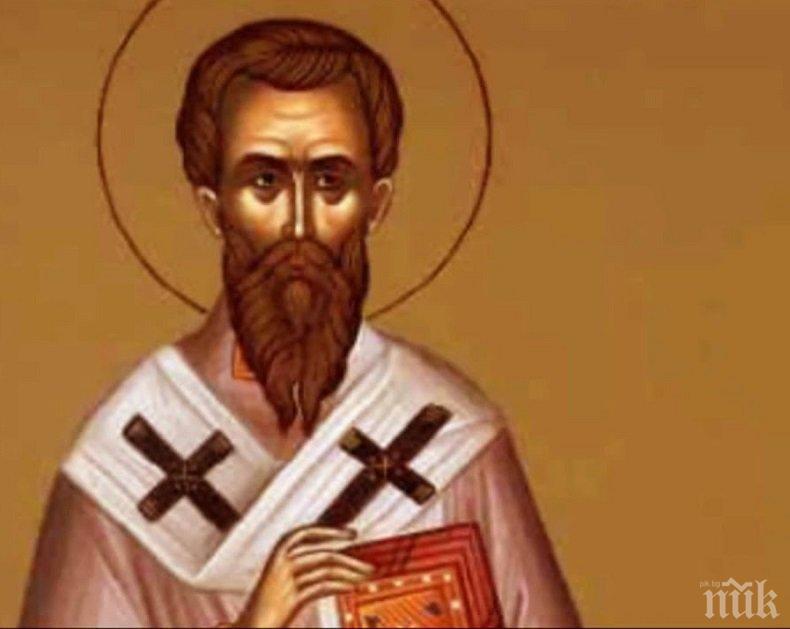 СИЛНА ВЯРА: Да дадеш живота си за Христос - честваме подвига на свети Симеон