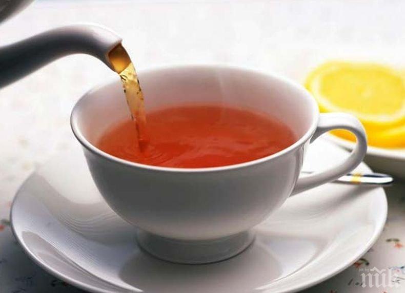 Пиенето на чай намалява риска от Алцхаймер с до 86%