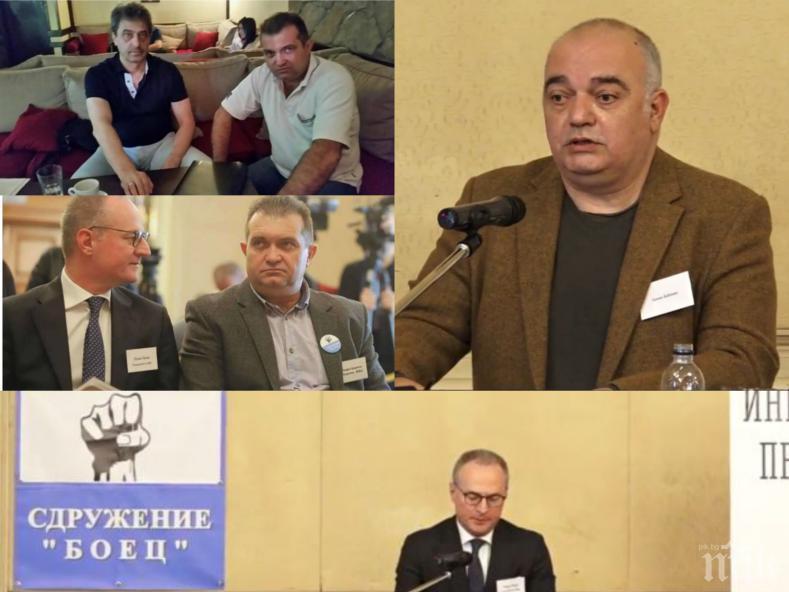 СРАМ: Лозан Панов обслужва частни сборища на подсъдими олигарси срещу властта и правосъдието. Съдник №1 и Черния лебед унизяват съдебния парламент