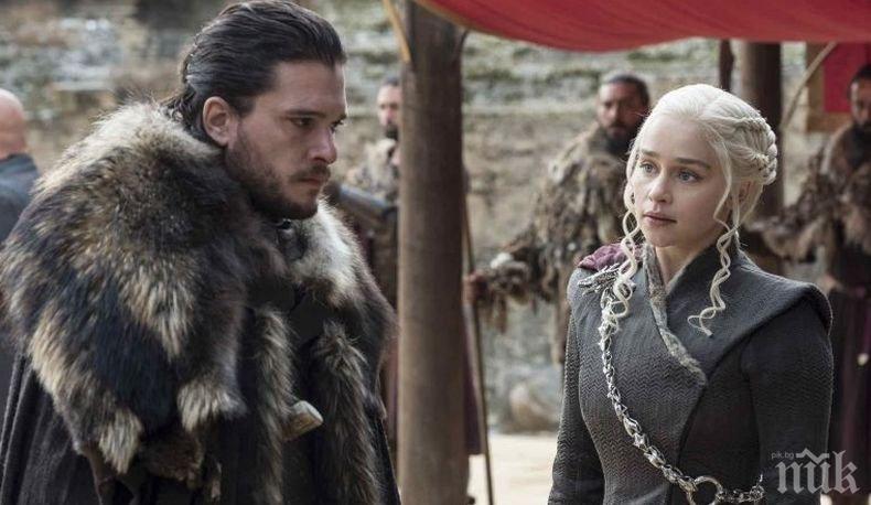 """Рекорд: Премиерата на първия епизод от последния сезон на """"Игра на тронове"""" е бил изгледан от над 17 млн. американци"""