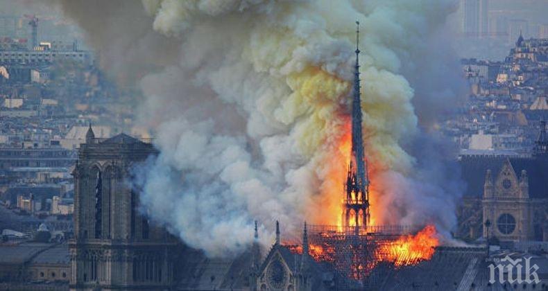 """Властите в Япония са готови да разгледат въпроса за отпускане на помощ на Франция за възстановяването на катедралата """"Нотр Дам"""""""