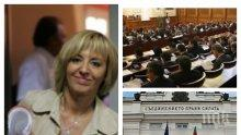 ИЗВЪНРЕДНО В ПИК TV: Парламентът препитва омбудсмана Мая Манолова - депутатите демонстрират незаинтересованост (СНИМКИ/ОБНОВЕНА)