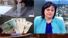 ФАЛИТ: Корнелия Нинова харчи милиони от партийната субсидия