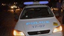 ЕКШЪН КРАЙ БУРГАС: Кола се запали на магистралата, шофьорът откаран в болница