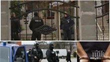 ИЗВЪНРЕДНО: Спецпрокурори и полицаи обискират палатите на ало измамниците в Горна Оряховица, тече акция и в Румъния (СНИМКИ/ВИДЕО)