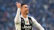 Роналдо продължава да кове рекорди