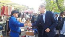 Цветанов в Симеоновград: Икономическото развитие и ниската безработица в града стимулират интеграцията на малцинствата