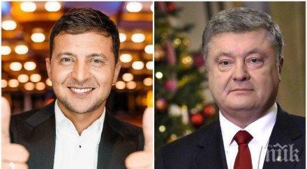 СЪКРУШИТЕЛНА ПОБЕДА: Зеленски е новият президент на Украйна