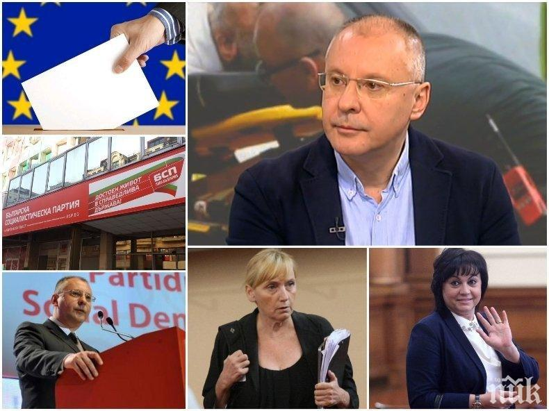 ГЛАС ЗА БСП = Глас за Виденов, ДС, Истанбулската конвенция, Народния съд, Цветан Василев