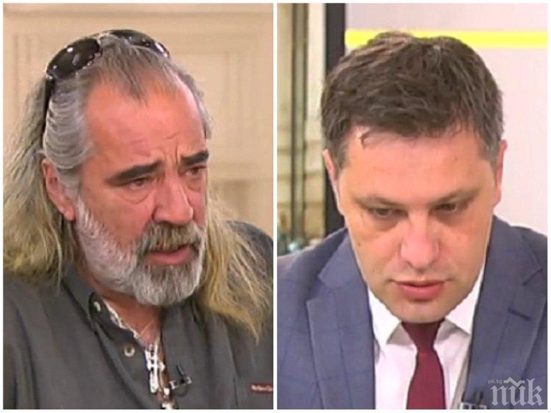ИЗПЛЮ КАМЪЧЕТО: Андрей Слабаков каза кой го е поканил в листата на ВМРО, Александър Сиди изравни БСП със земята: Те са лицемери