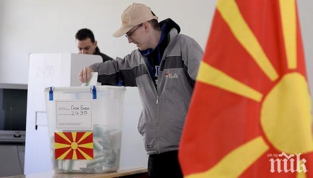 Кандидатът на управляващите води на изборите в Северна Македония