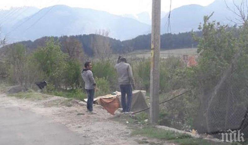 Роми масово крадат ток в Дупница