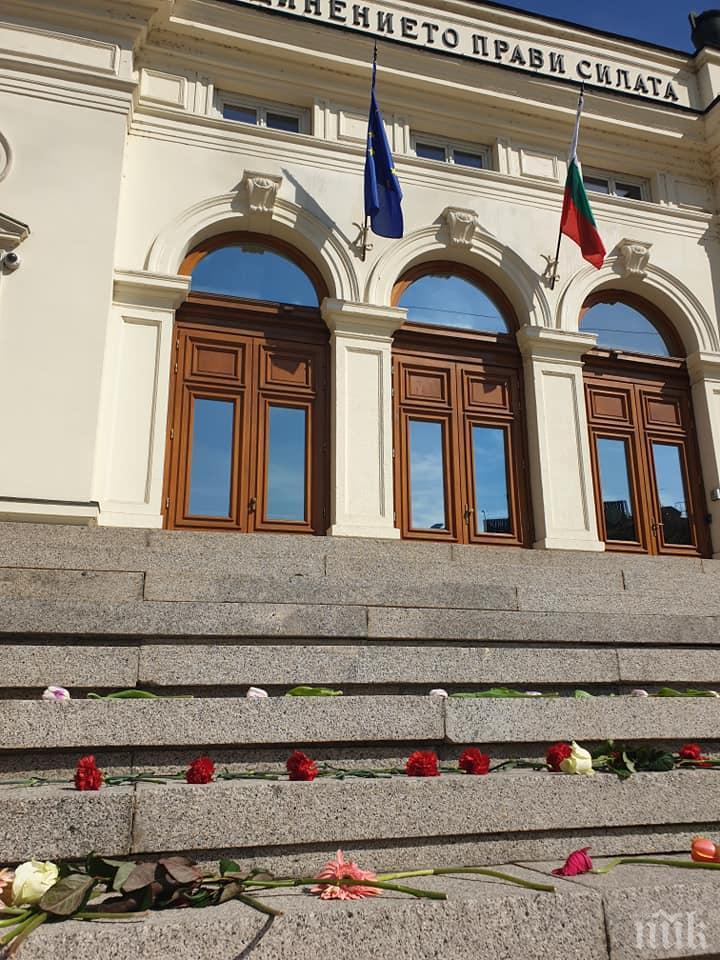 ОТ ПОСЛЕДНИТЕ МИНУТИ: Сайтът на парламента се срина (СНИМКА)