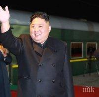 Погранично руско селище посрещна Ким Чен-ун с хляб и сол на гарата (ВИДЕО/СНИМКИ)