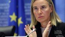 Германски политик със скандална новина: Могерини ръководи плановете за размяна на територии между Белград и Прищина