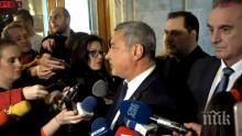 ИЗВЪНРЕДНО В ПИК TV: Валери Симеонов внася в ЦИК листата на коалицията си за евровота (ОБНОВЕНА)