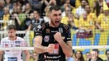 Цветан Соколов с 15 точки при загуба на Лубе Чивитанова