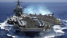 Два американски самолетоносача се засякоха в Средиземно море заради ...