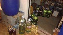 Близо 1000 литра нелегален алкохол иззети в Плевен и Полски Тръмбеш