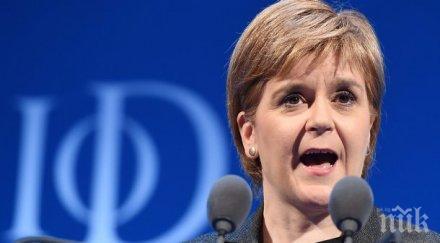 Никола Стърджън иска втори референдум за независимост на Шотландия