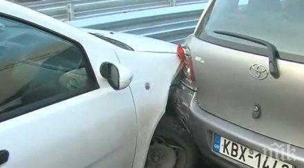 Пиян джигит предизвика катастрофа на пътя Пловдив-Карлово
