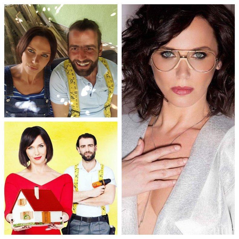 МЪЖЪТ И ЖЕНАТА ИНТИМНО: Мария Силвестър се натиска с новия си любовник на улицата - вижте дали това е майстор Караджов (СНИМКА)
