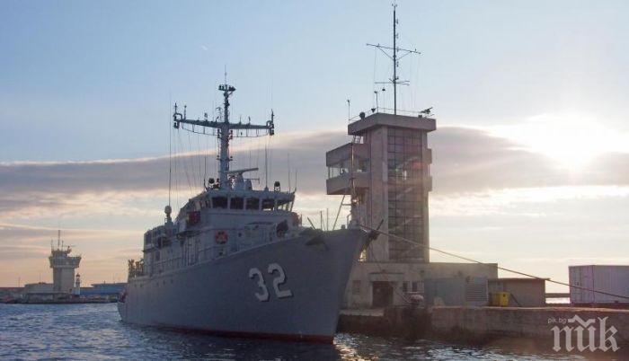 Отвориха офертите за два нови патрулни кораба за ВМС